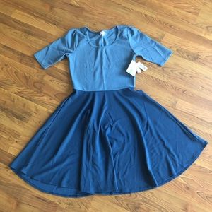 NWT LulaRoe Nicole Dress XL
